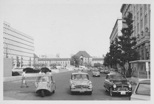 Old Photos: 1960年 丸の内~東...