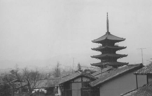 1967年 京都・八坂の五重塔